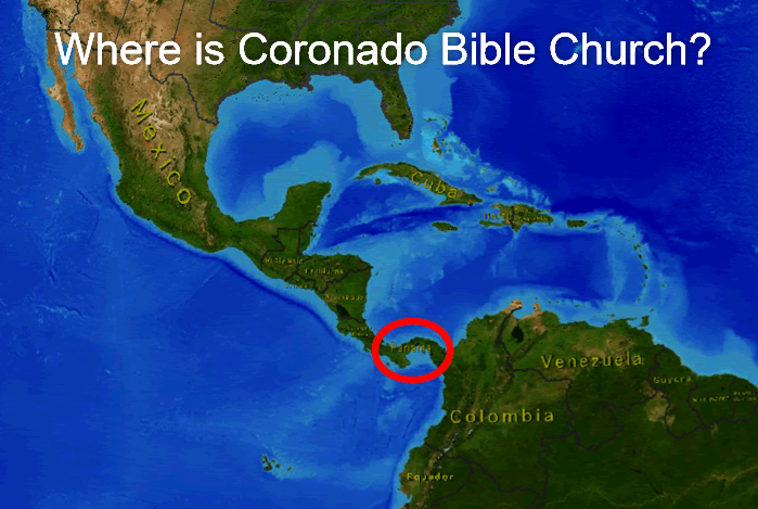 Where in the world is Coronado Bible Church?