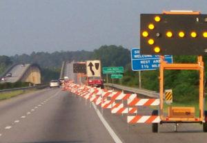 lane closure 3b